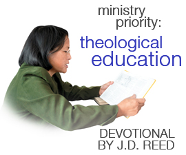 Devotional: Theological Education