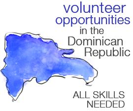 Volunteer opportunities in the Dominican Republic