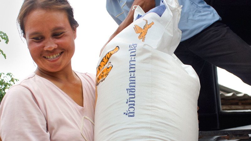 Thailand - Rice for House of Blessing Families