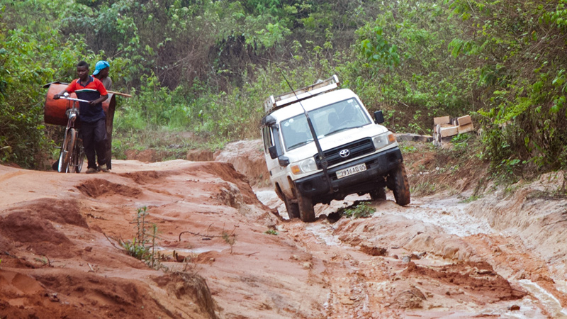 Congo - Land Cruiser