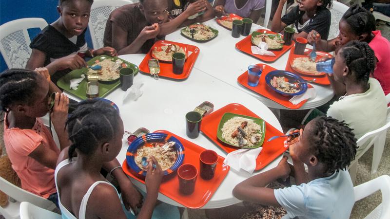 White Cross - Liberia Ricks Institute Meals