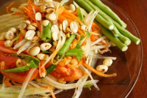 Delicious Thai somtam