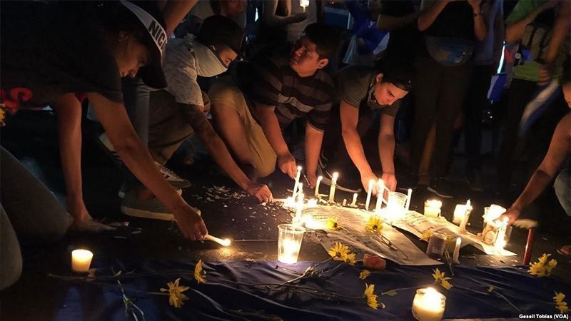 Nicaragua protests 2018
