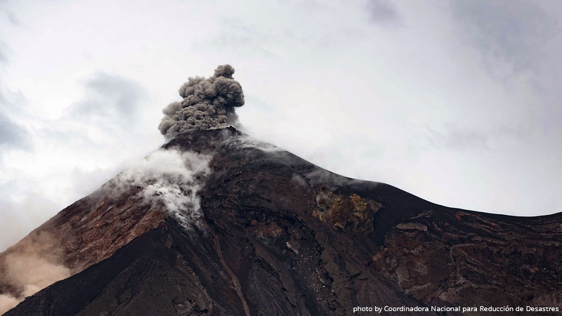 Volcan de Fuego eruption, June 3, 2018, Nicaragua