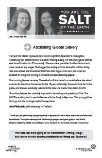 Abolishing Global Slavery
