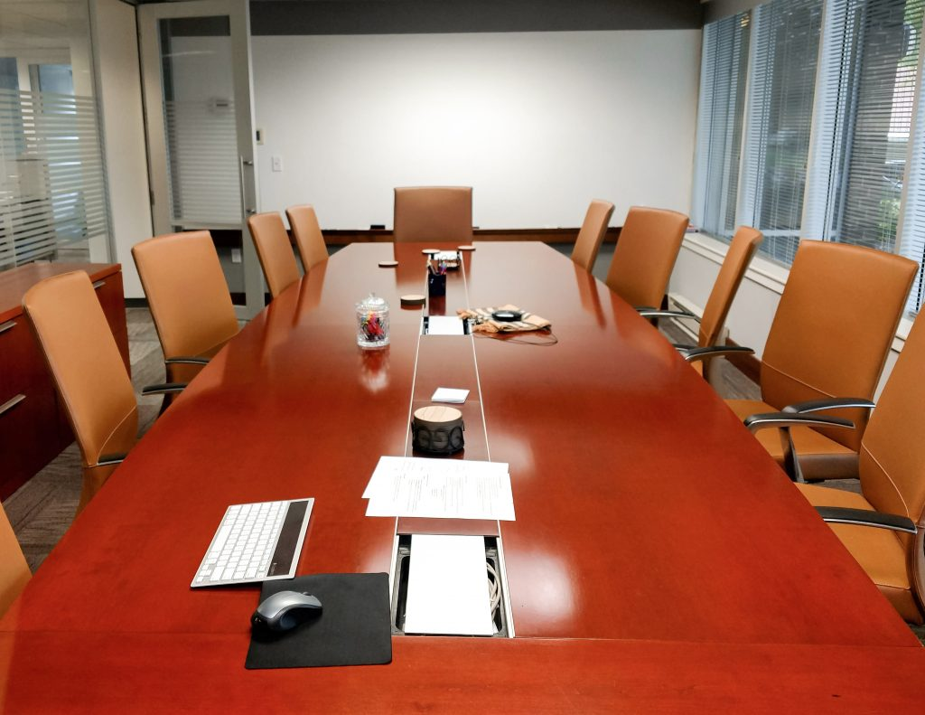 International Ministries conference room