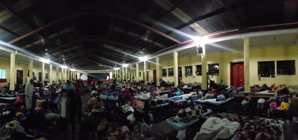 Casa del Migrante en la Ciudad de Guatemala