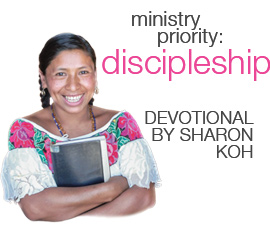 Devotional: Discipleship by Sharon Koh