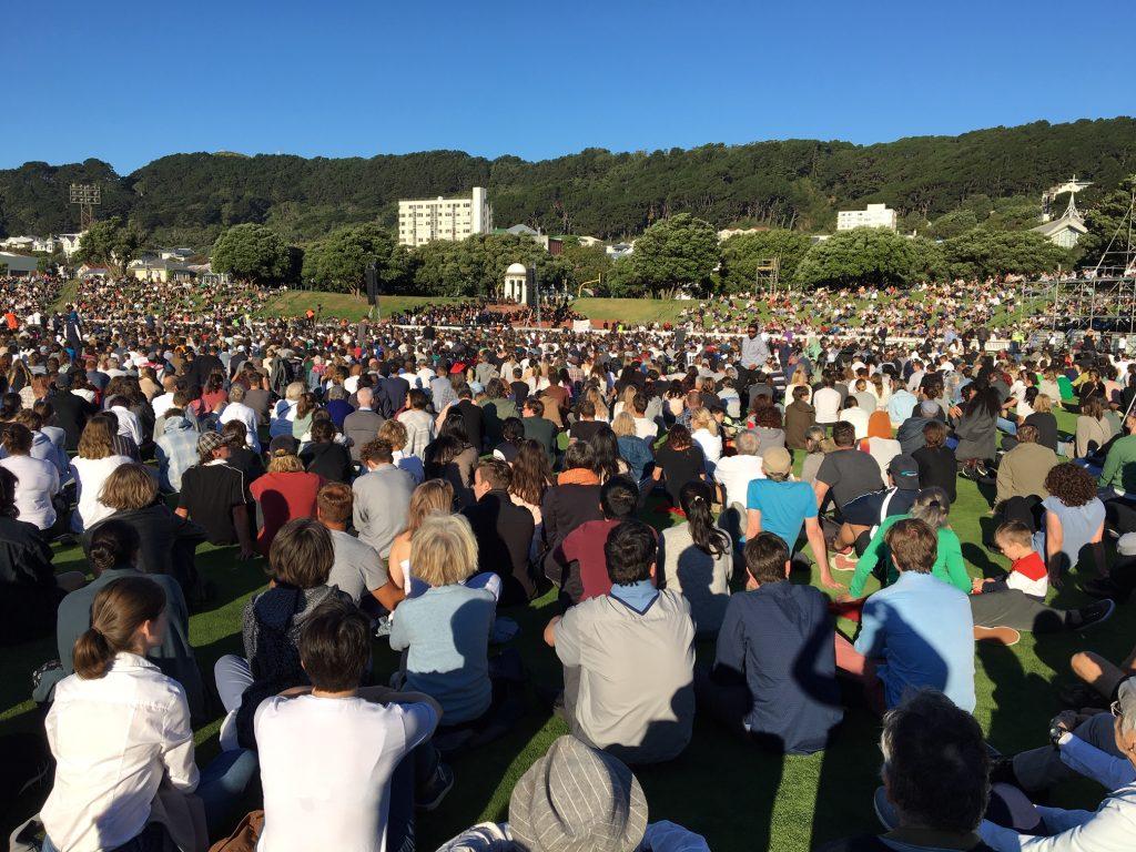 Wellington vigil