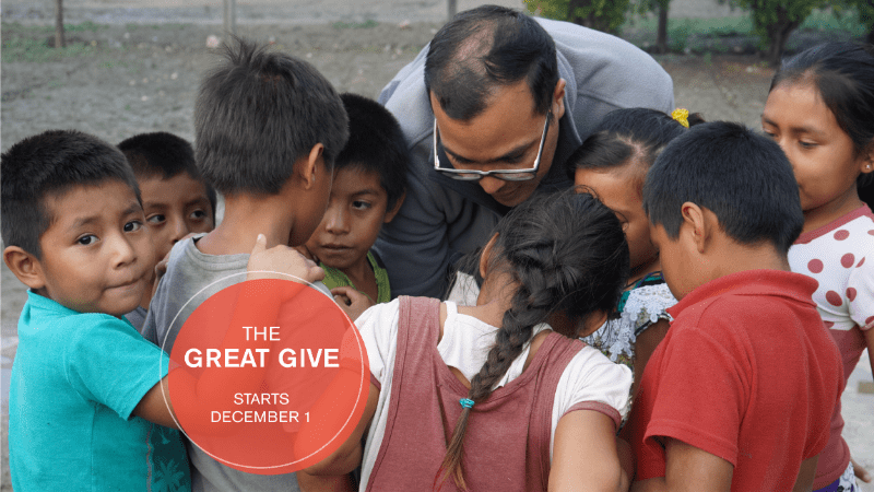 The GREAT GIVE Dec 1 - Dec 31