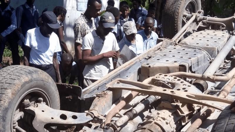 Haiti Eye Clinic Vehicle